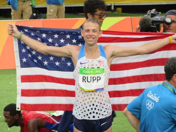 ... et enfin le bronze pour Galen Rupp (USA)