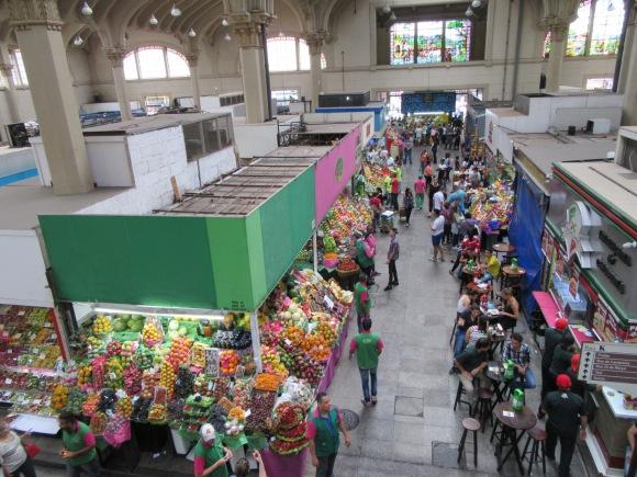 Le marché municipal