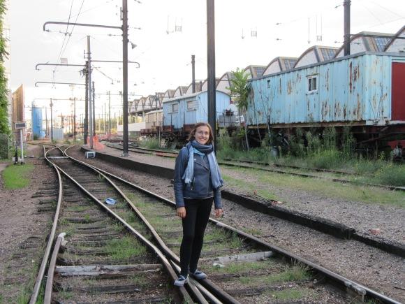 ... et mini Urbex sur un terrain SNCF en cours de démolissage