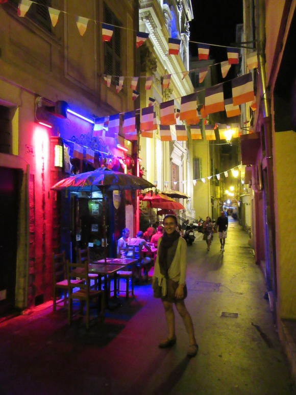 Balade by night dans le vieux Nice