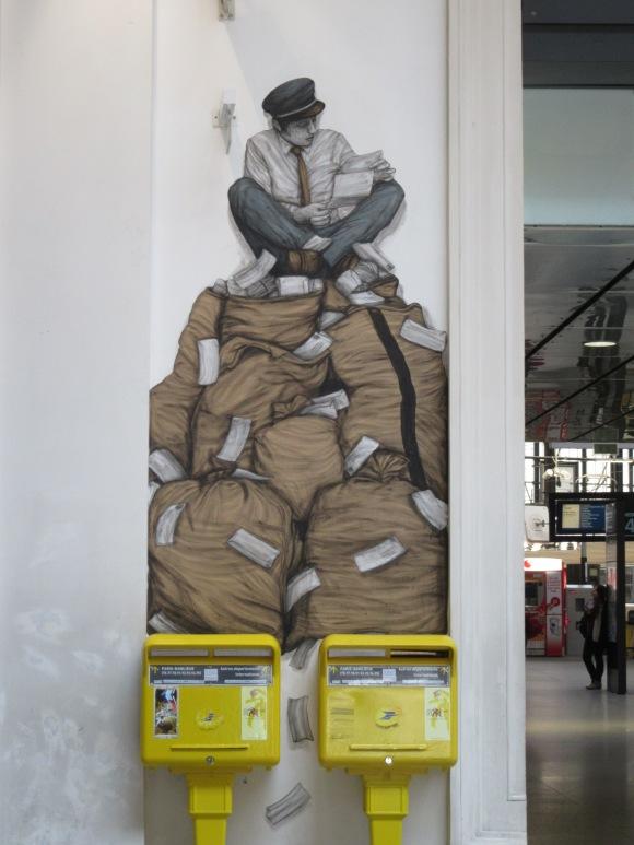 Street art à St Lazare