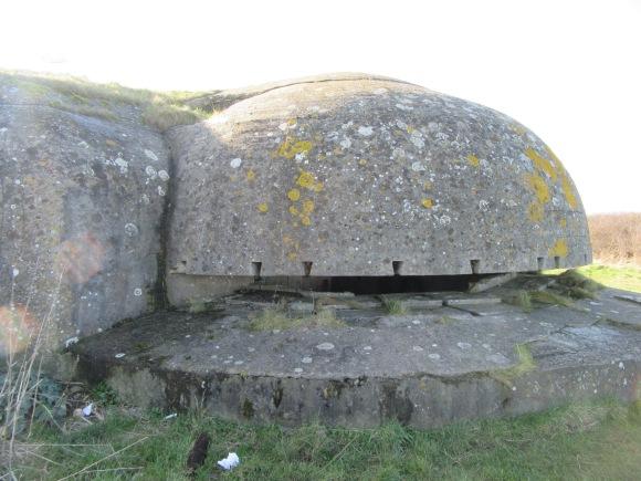 L'un des bunkers que nous avons explorés