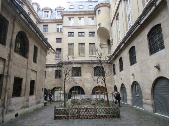 La cour des femmes, où les prisonnières pouvaient sortir prendre l'air