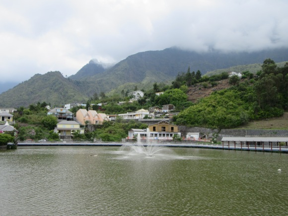 La Mare à Joncs, le petit lac au centre de Cilaos