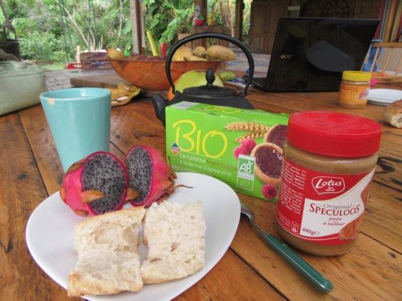 Pour bien commencer la journée, rien de tel qu'un bon petit-déjeuner...